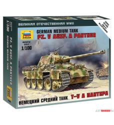 "6196 Танк немецкий ""Пантера"" масштаб 1:100"