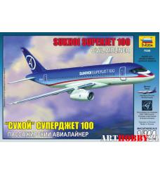 """7009 Пасс. авиалайнер """"Суперджет 100"""""""