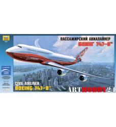 "7010 Пасс. авиалайнер ""Боинг 747-8"""