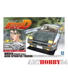 00813 Toyota AE86 Sprinter Trueno Fujiwara Takumi AE86 (D Ver)
