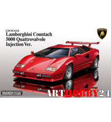 01154 Lamborghini Countach 5000 Quattrovalvole Injection Ver
