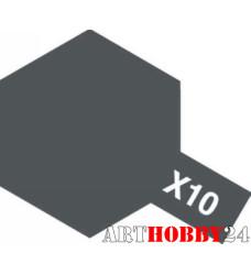 81510 Х-10 Gun Metal (Пушечный металл)
