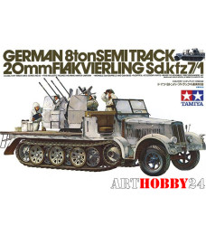 35050 German 8ton Semi Track with 20mm Flak4