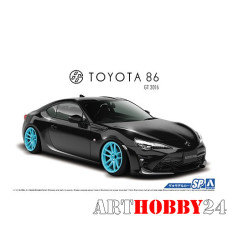 05179 Toyota 86 '16 with Custom Wheels
