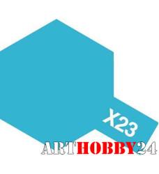 81523 Х-23 Clear Blue (Прозрачно-синяя) акрил