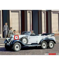 35531 Германский автомобиль G4 (1939) с пассажирами