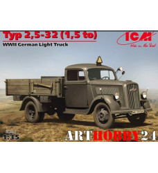 35401 Тур 2,5-3,2 (1,5 to), германский легкий грузовик 2МВ