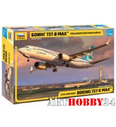 "7026 Пассажирский авиалайнер ""Боинг 737-8 MAX"""