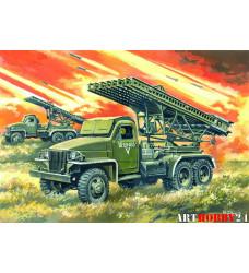 35512 БМ 13-16 Катюша, система залпового огня