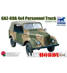 CB35093 GAZ 69A 4x4 Personnel Truck