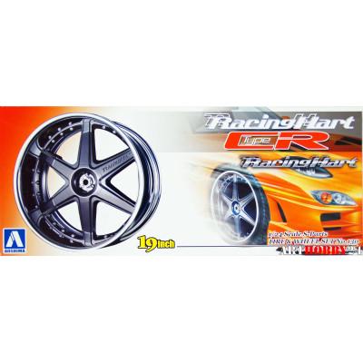 01004 RacingHart Type CR Black 19 inch