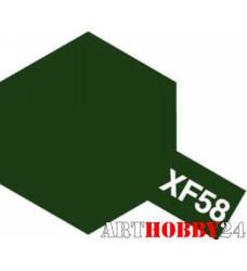 80358 ХF-58 Olive Green (Оливково-зеленая)