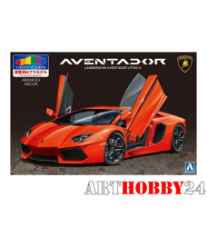 01138 Lamborghini Aventador LP700-4 (Orange Pearl)