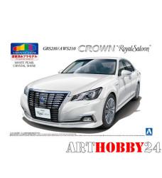 05082 Toyota Crown Hybrid Royalsaloon GRS210 (White Pearl Crystal Shine)