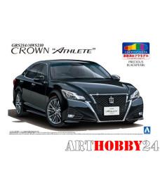 05083 Toyota Crown Hybrid Royalsaloon GRS210 (Precious Black Pearl)