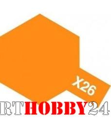 81526 Х-26 Clear Orange (Прозр. оранжевая) акрил