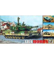 01535 М1А1/А2 Abrams (5в1)