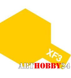 81703 XF-3 Flat Yellow (Желтая матовая) акрил