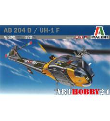1201 AB-204 B/UH-1F