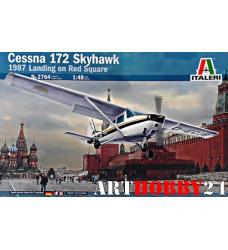 2764 Cessna 172 на Красной площади 1987г.