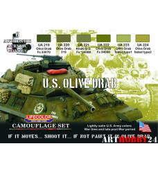 LifeColor CS11 U.S. OLIVE DRAB