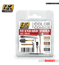 AK-4174 STANDARD TOOLS ALL ERAS COLOR COMBO