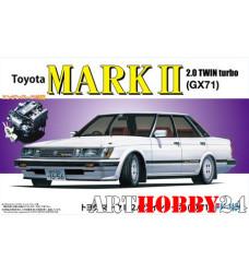 ID-176 Toyota Mark II 2.0 Twin Turbo(GX71) with engine