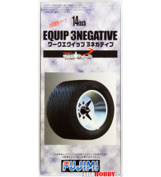 Equip 3negative Wheel & Tire Set 14 inch