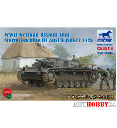 CB35118 German Assault Gun Sturmgeschütz  III Ausf E (SdKfz 142)