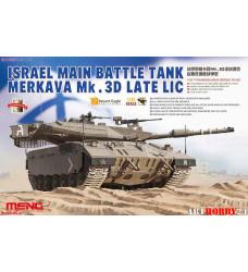 TS-025 ISRAEL MAIN BATTLE TANK MERKAVA Mk.3D LATE LIC