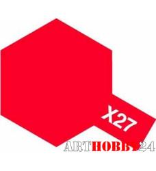 81527 Х-27 Clear Red (Прозр. красная) акрил