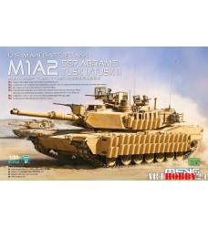 TS-026 U.S. MAIN BATTLE TANK M1A2 SEP ABRAMS TUSK I/TUSK II