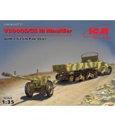 35803 V3000S/SS M Maultier с пушкой 7,62 см Pak 36
