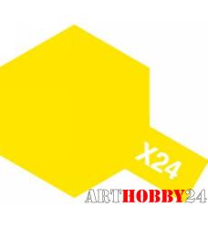 81524 Х-24 Clear Yellow (Прозр. желтая) акрил