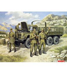35516 ЗиЛ-131,  с советской мотопехотой