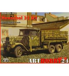 35466 Hs 33 D1, немецкий грузовой автомобиль, 2МВ