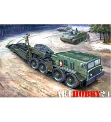 00212 МАЗ-537 с прицепомЧМЗ АП-52