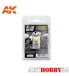 AK-2000 Aircraft Engine Effects Weathering Set