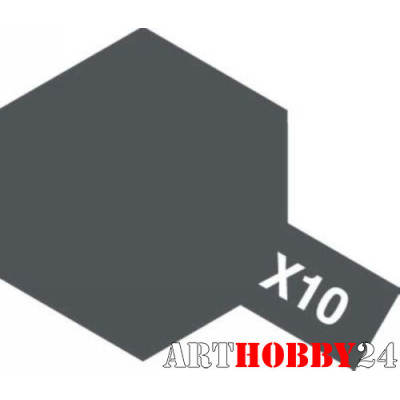 80010 Х-10 Gun Metal (Пушечный металл)