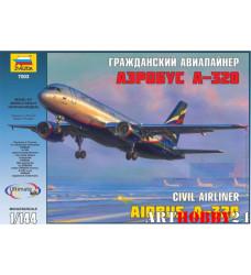 """7003 Пасс. авиалайнер """"Аэробус А-320"""""""