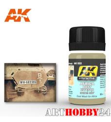 AK-022 Africa Dust Effects (смывка, эффект африканской пыли)