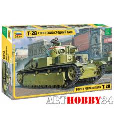 "3694 Советский средний танк ""Т-28"""