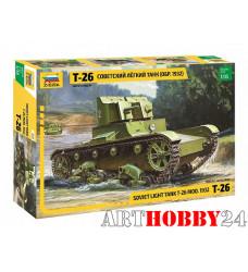"""3542 Советский лёгкий двухбашенный танк """"Т-26"""""""