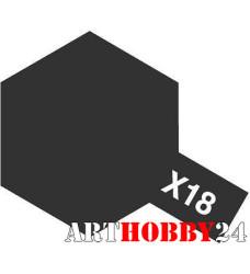 81518 Х-18 Semi Gloss Black (Полуматовая черная)