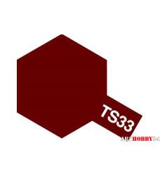 85032 TS-33 Dull Red - краска-спрей в баллончике 100 мл.