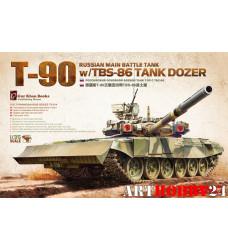 TS-014 Russian Main Battle Tank T-90 w/TBS-86
