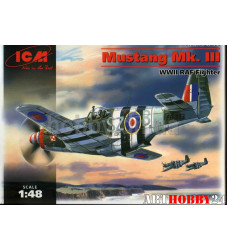 48123 Мустанг MK III ВВС Великобритании