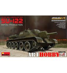 35175M СУ-122 с Полным Интерьером