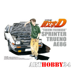 00320 Takumi Fujiwara 86 Trueno Comics vol.1 ver.(TOYOTA)