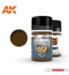 AK-081 Dark Earth Pigment (Тёмная земля)